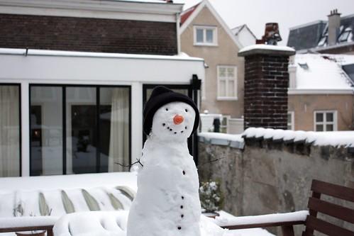 Snowman Jan - The Hague