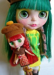 Shaylee y Blythe littlest pet shop (Autumn Glam)