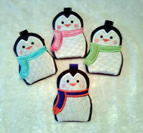 Penguin Gift Card Holders