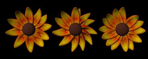 Flower Script Render