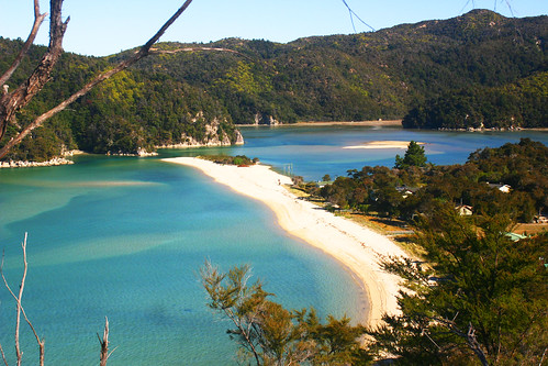 Roundhouseblick Abel Tasman National Park