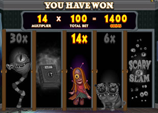 free Monsters In The Closet bonus game 3