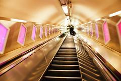 Into the Great Unknown (www.LKGPhoto.com) Tags: urban london underground escalator tube cityscenes lkgphotography wwwlkgphotocom tinypinkwindowslinetheway