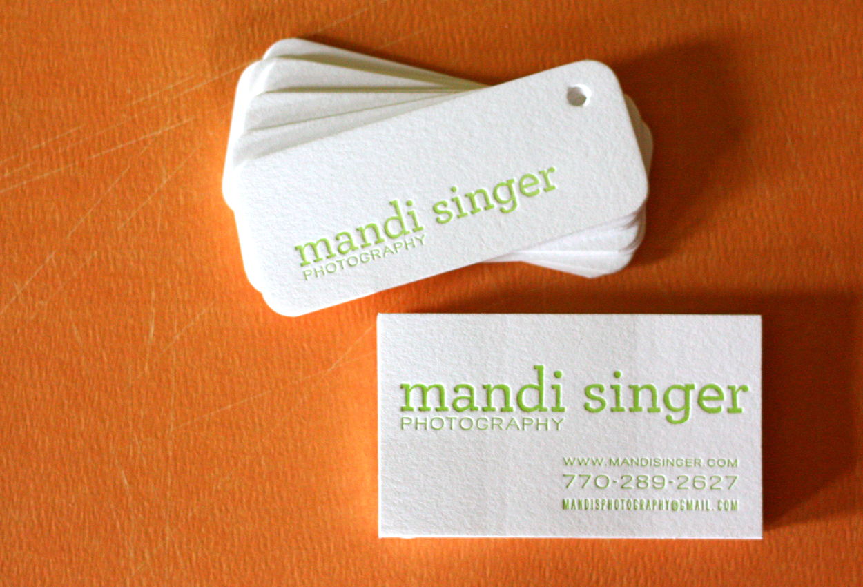Mandi Singer branding package