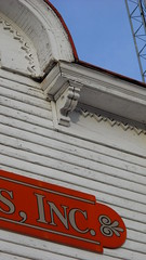 Poyner trim detail (seedmoney1) Tags: historicarchitecture curritucknc poynergeneralstore