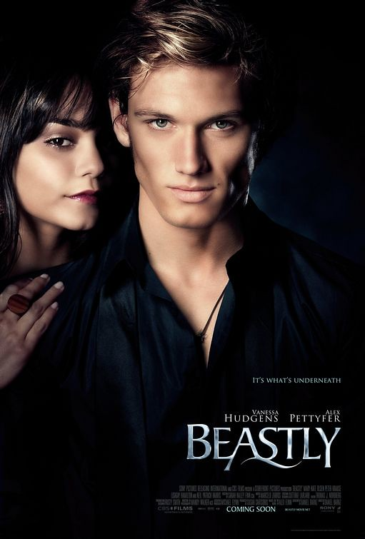 beastly Vanessa Hudgens and Alex Pettyfer movie poster