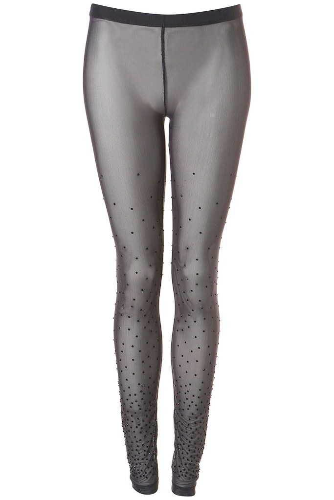 Crystal Mesh Leggings from Topshop £30.00