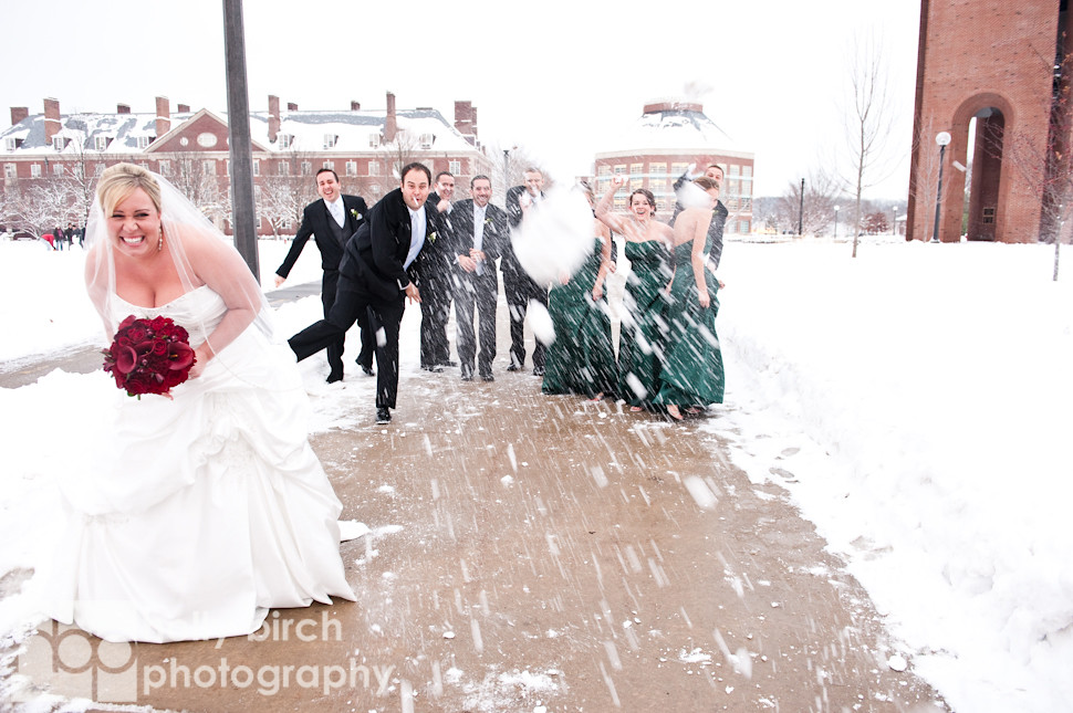 Lindsey + Chris | Champaign Hilton & Holy Cross wedding
