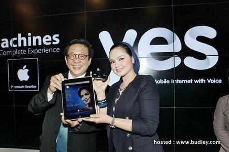 Siti Nurhaliza Yes 4G ipad
