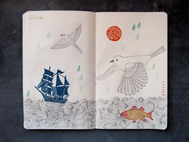 Sketchbook Project Page 3