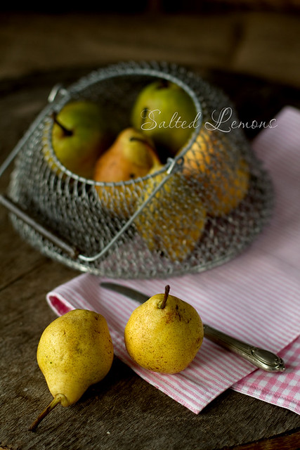 Poched Pears