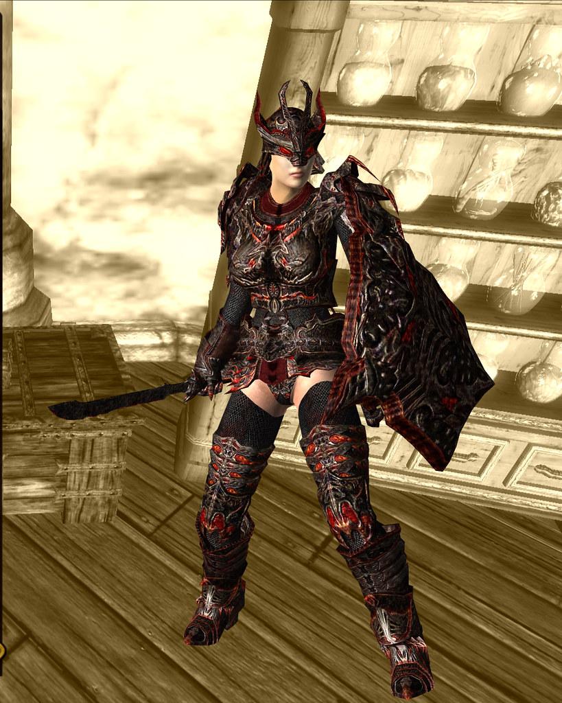 daedric armor 05