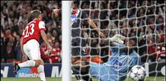 Arsenal 6-0 SC Braga ©uefa