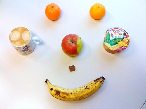Frucht finesse, Clementine, Apfel & Clementinen