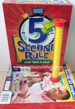 5 Second Rule party game