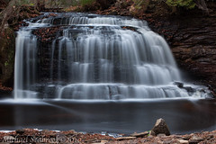 The Forest Whispers My Name (Shadows in Reflection) Tags: up waterfall michigan rockriverfalls