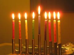 ROYGBIV Hanukkah (calamity_sal) Tags: hanukkah menorah hanukkiah eighthnight