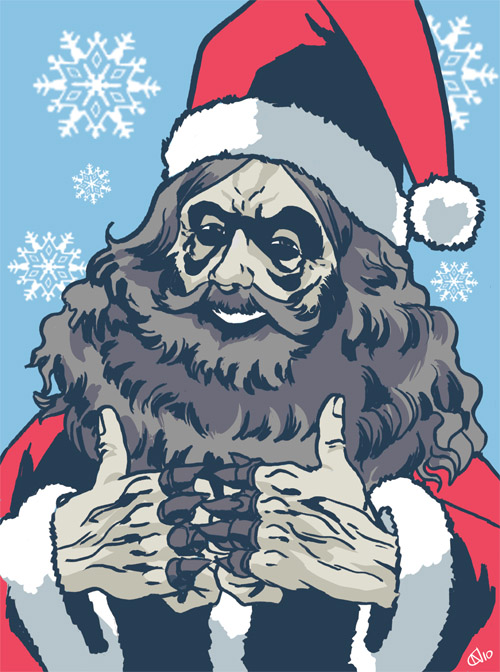 13 - Disturbingly Cheerful Alan Moore Santa