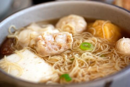 duet noodle soup @ noodle village