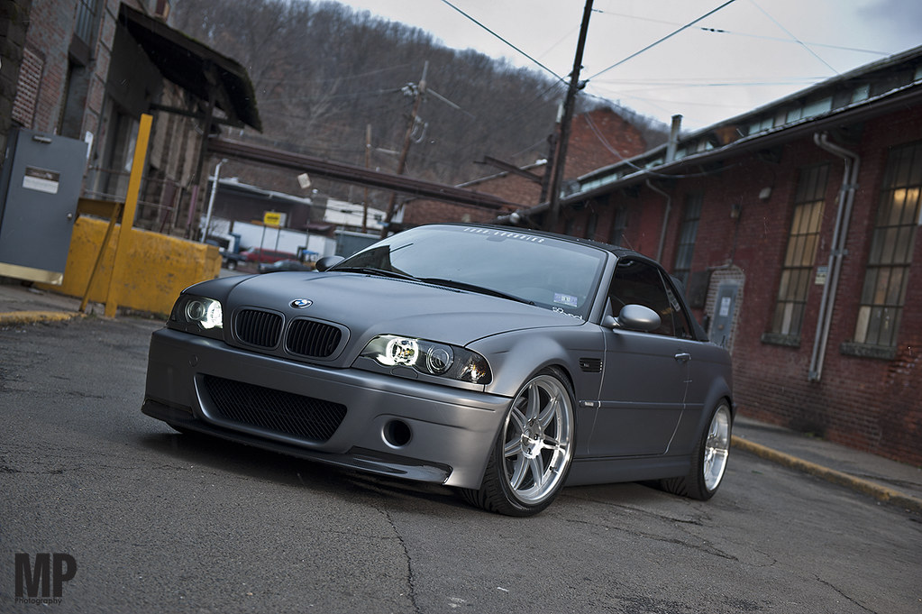 Frozen Gray E46 M3