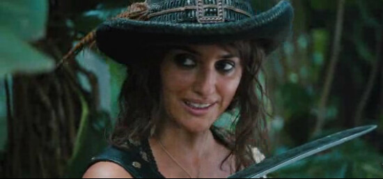 angelica on Pirates of the Caribbean: On Stranger Tides