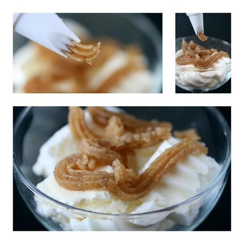 monte bianco (mont blanc) dessert