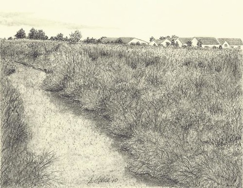 Creek II, graphite