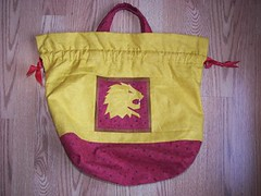 Gryffindor Bag by hermione_jean