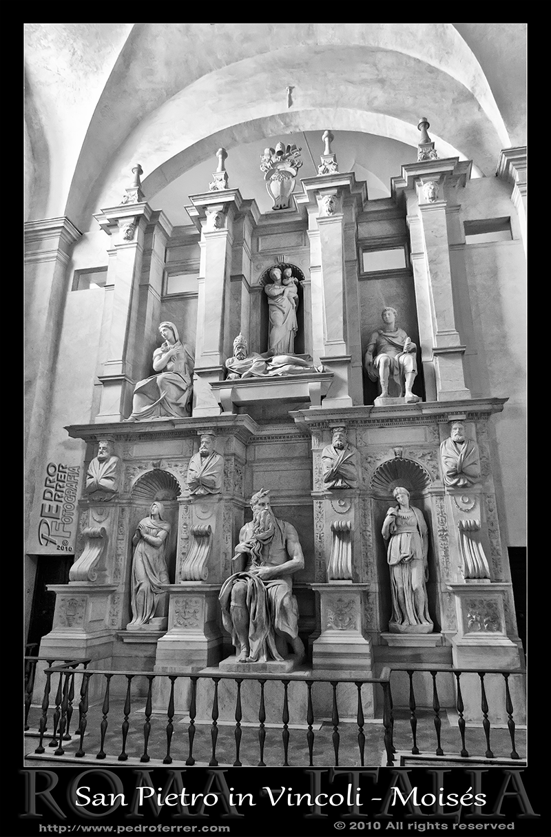 Roma - San Pietro in Vincoli - Moises