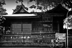 A Tribute to Jean-Michel Berts (Ame Otoko) Tags: wood old light shadow bw japan architecture temple photography japanese tokyo wooden shrine traditional historic todd hiroo onone fong jeanmichelberts toddfongphotography
