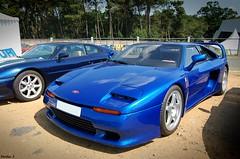 Venturi 400 GT et Venturi 300 Altantique Biturbo (Nico_bzh29) Tags: blue france french 400 trophy 300 gt supercar bleue venturi atlantique biturbo 400gt worldcars