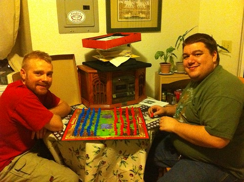 Ben and I playing stratego.