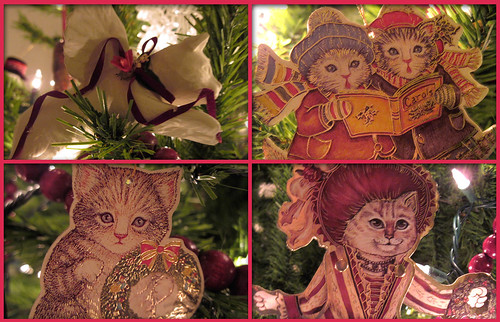 Cat Ornament Mosaic