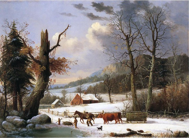 Gathering Wood for Winter 1855