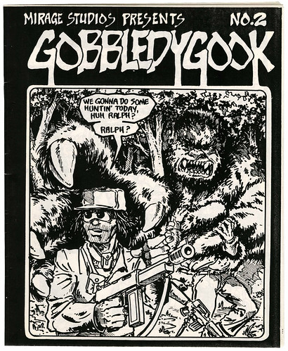 "MIRAGE STUDIOS PRESENTS ""Gobbledygook"" #2  (( 1984 )) [[ Courtesy of Heritage Auction Galleries ]]"