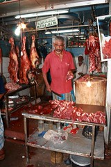 "- Kandy, ""The"" butcher - (dcem) Tags: market butcher srilanka kandy serendib ceylan 400d canonefs1855mm3556"