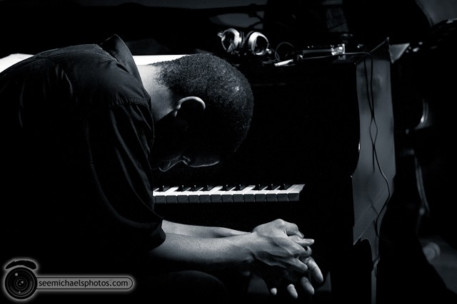 Jason Robinson Quintet at Dizzy's 121810 © Michael Klayman-019