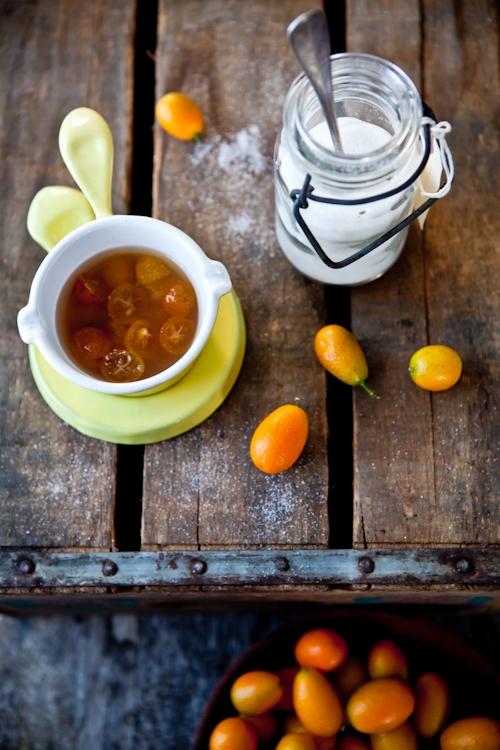 Poached Kumquats