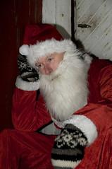 God Jul (gutan) Tags: santa christmas portrait norway norge vinter crazy nikon humor jul happychristmas julenisse portrett d300 kaldt olystad