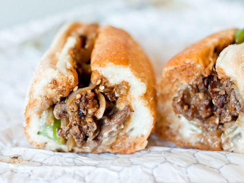 Beef bulgogi cheesesteak