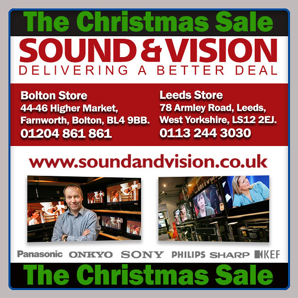 sound and vision boltongreater manchester and leedswest yorkshireuk best - Best After Christmas Sale