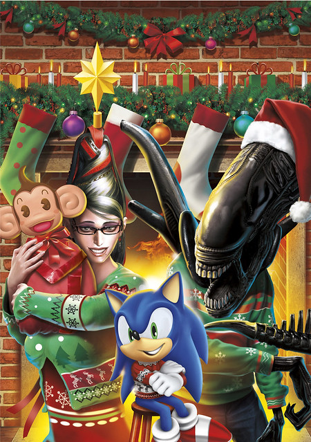 SEGA Holiday Card 2010