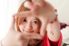 Beautiful Chinese girl (不法奶农) Tags: pictures winter hat asian japanese eyes eyelashes heart skin head chinese makeup korean coats blackhair gestures eyemakeup brownhair chinesewomen cashmerecoat beautifulchinesegirls