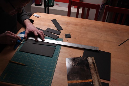 cutting foamcore
