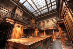 The Library (Esther Seijmonsbergen) Tags: history haarlem museum library books hdr teylersmuseum 5xp