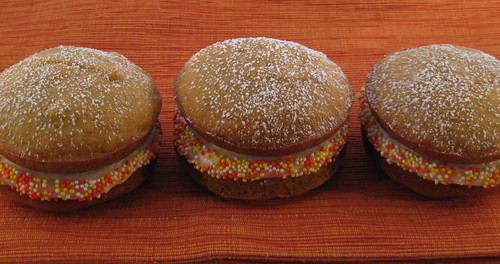 three little whoopies all in a row...