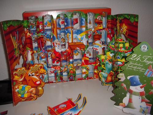 My Kinder Überraschung Advent Calendar