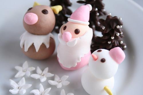 クリスマスケーキの飾り [試作]