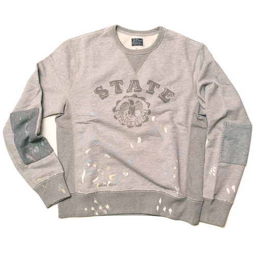 J.Crew / Destroyed State Sweatshirt