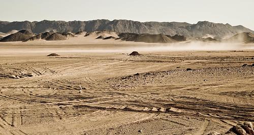 A lost era of desert tracks